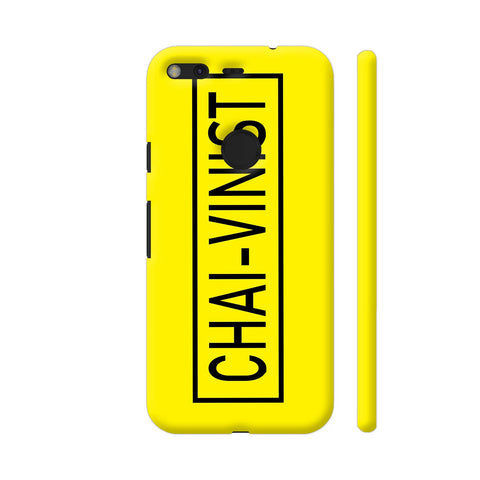 Chai Vinist On Yellow Google Pixel Cover | Artist: Malls