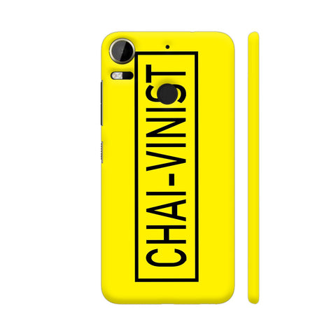 Chai Vinist On Yellow HTC Desire 10 Pro Cover | Artist: Malls