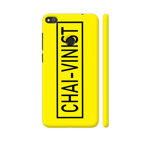 Chai Vinist On Yellow Honor 8 Lite Cover | Artist: Malls