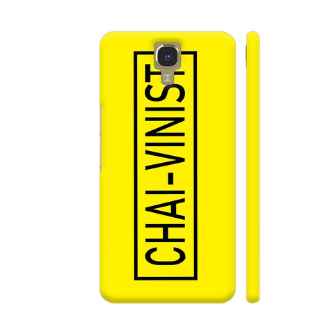 Chai Vinist On Yellow Infinix Note 4 Cover | Artist: Malls