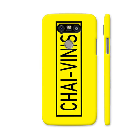 Chai Vinist On Yellow LG G5 Cover | Artist: Malls