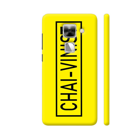 Chai Vinist On Yellow LeEco Le Max 2 Cover | Artist: Malls