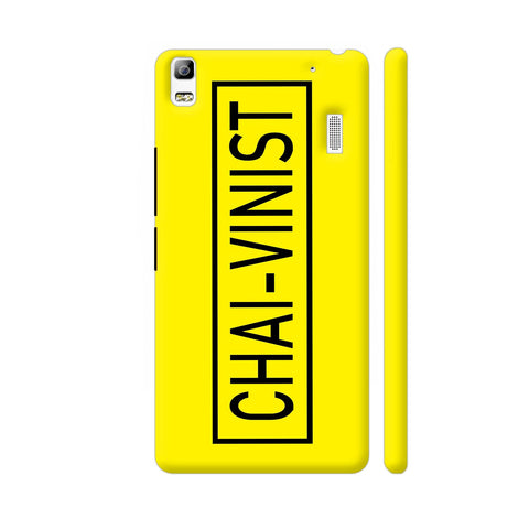 Chai Vinist On Yellow Lenovo A7000 Cover | Artist: Malls
