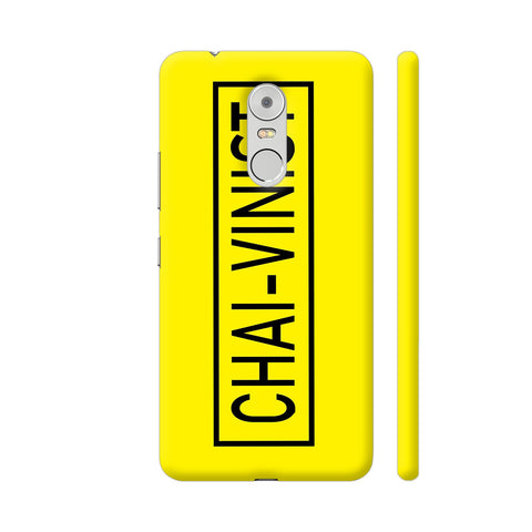 Chai Vinist On Yellow Lenovo K6 Note Cover | Artist: Malls