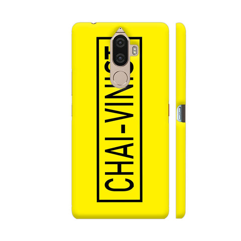 Chai Vinist On Yellow Lenovo K8 Note Cover | Artist: Malls