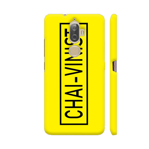Chai Vinist On Yellow Lenovo K8 Plus Cover | Artist: Malls