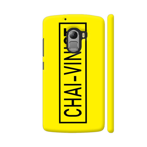 Chai Vinist On Yellow Lenovo K4 Note Cover | Artist: Malls