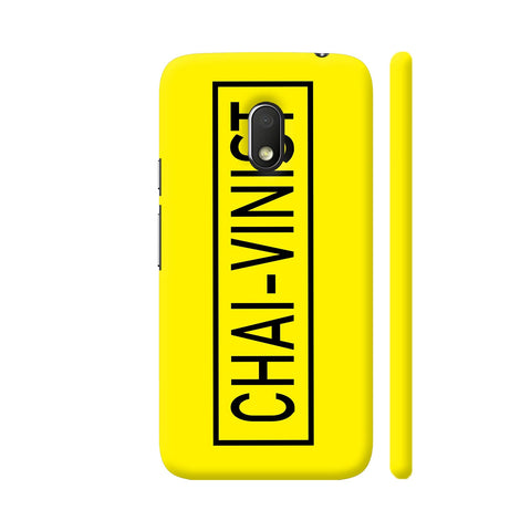 Chai Vinist On Yellow Moto G4 Play Cover | Artist: Malls
