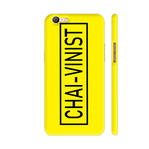 Chai Vinist On Yellow Oppo A57 Cover | Artist: Malls