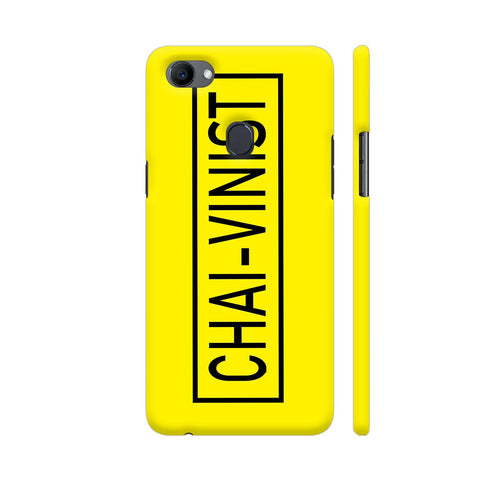 Chai Vinist On Yellow Oppo F7 Cover | Artist: Malls