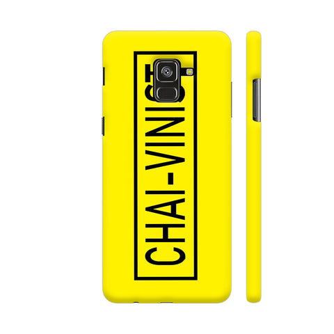Chai Vinist On Yellow Samsung A8 Cover | Artist: Malls