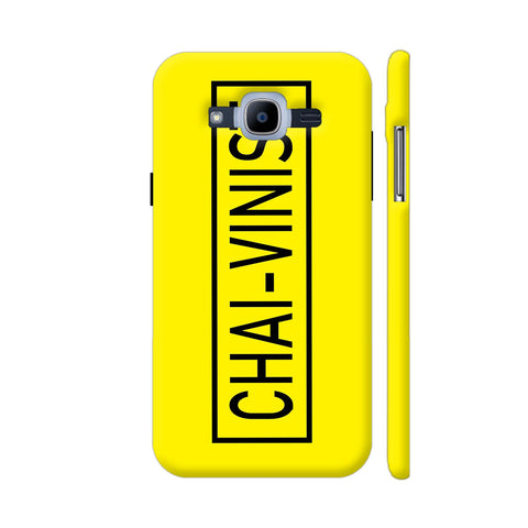 Chai Vinist On Yellow Samsung J2 Pro Cover | Artist: Malls