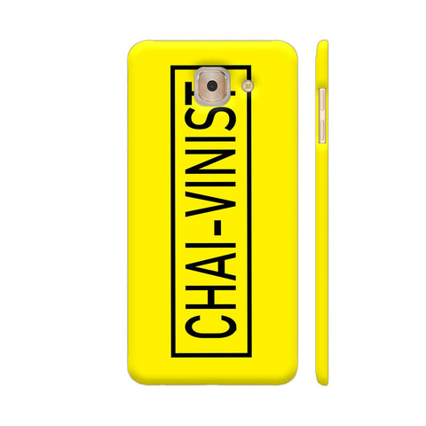 Chai Vinist On Yellow Samsung J7 Max Cover | Artist: Malls