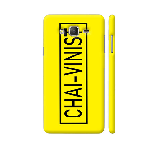 Chai Vinist On Yellow Samsung J7 Nxt Cover | Artist: Malls