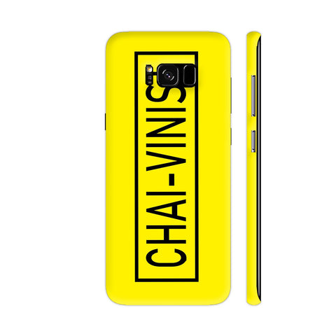 Chai Vinist On Yellow Samsung S8+ Cover | Artist: Malls
