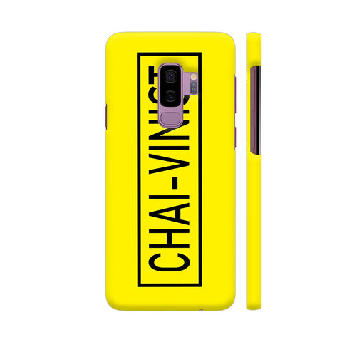 Chai Vinist On Yellow Samsung S9+ Cover | Artist: Malls