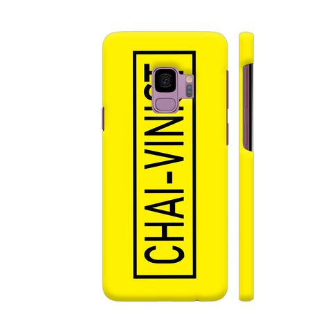 Chai Vinist On Yellow Samsung S9 Cover | Artist: Malls