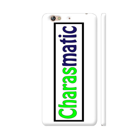 Charasmatic On White Gionee S6 Cover | Artist: Malls