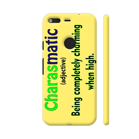 Charasmatic On Yellow Google Pixel Cover | Artist: Malls