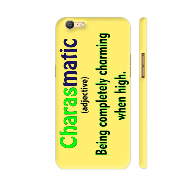 Charasmatic On Yellow Oppo A57 Cover | Artist: Malls