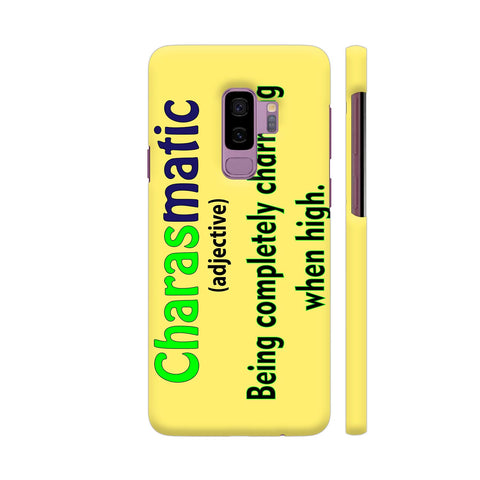 Charasmatic On Yellow Samsung S9+ Cover | Artist: Malls