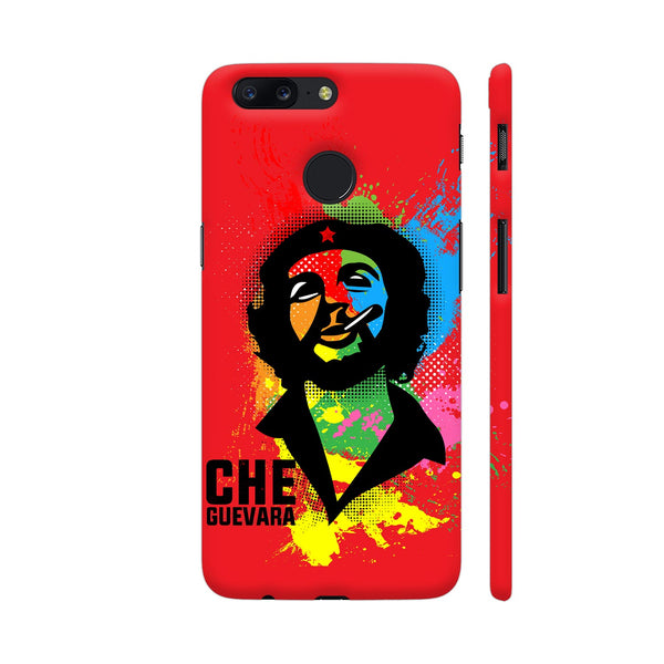 Che Guevara Painting On Red OnePlus 5T Cover | Artist: Designer Chennai