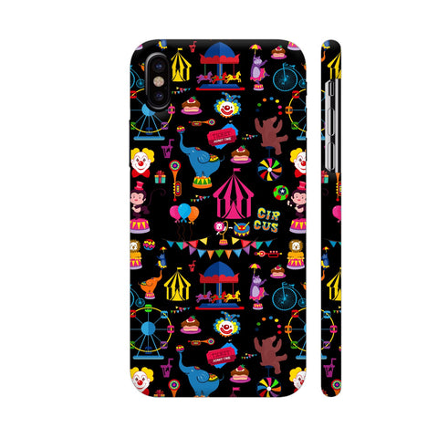 Circus iPhone X Cover | Artist: Disha