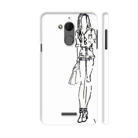 Class Apart Girl Walking Coolpad Note 5 Cover | Artist: Aanyaajolimoi