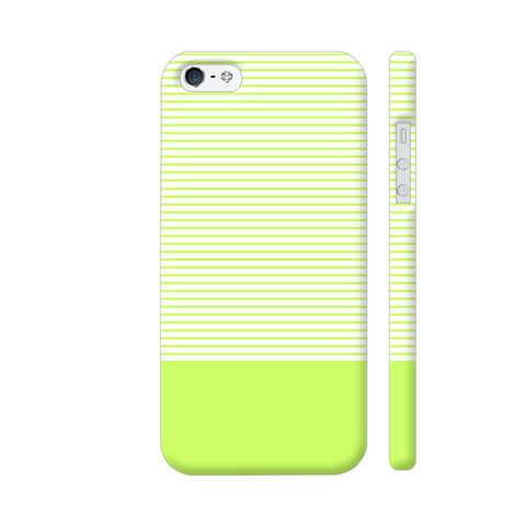 Classy Green Strips iPhone 5 / 5s Cover | Artist: Astha