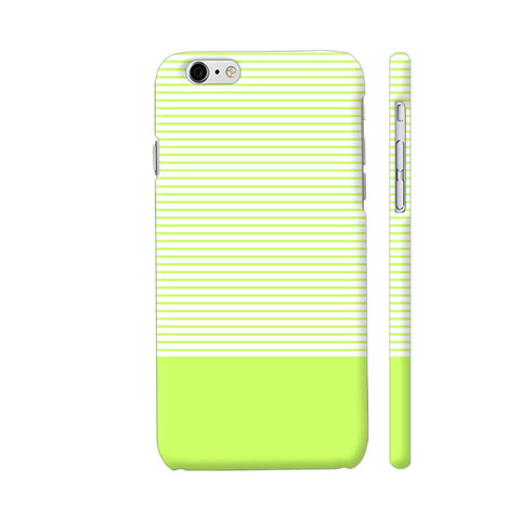 Classy Green Strips iPhone 6 / 6s Cover | Artist: Astha