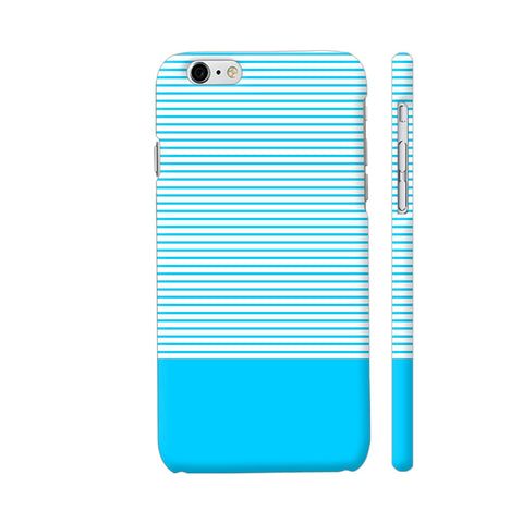 Classy Light Blue Strips iPhone 6 / 6s Cover | Artist: Astha