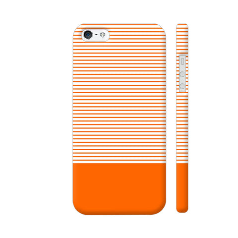 Classy Orange Strips iPhone 5 / 5s Cover | Artist: Astha