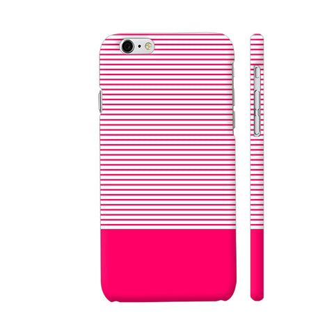 Classy Pink Strips iPhone 6 / 6s Cover | Artist: Astha