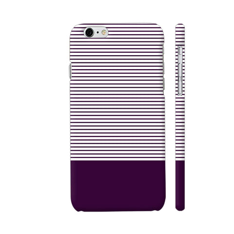 Classy Purple Strips iPhone 6 / 6s Cover | Artist: Astha
