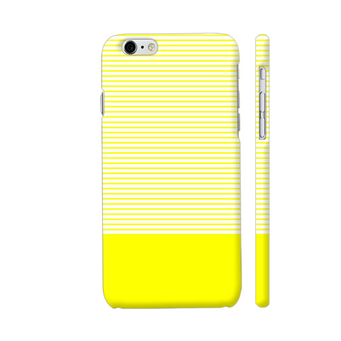 Classy Yellow Strips iPhone 6 / 6s Cover | Artist: Astha