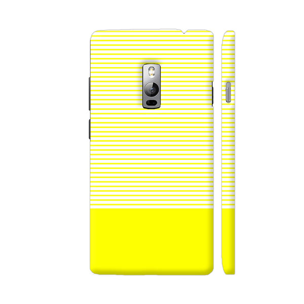 Classy Yellow Strips OnePlus 2 Cover | Artist: Astha