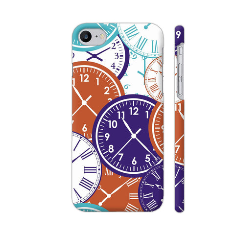 Clocks iPhone 7 Cover | Artist: Astha
