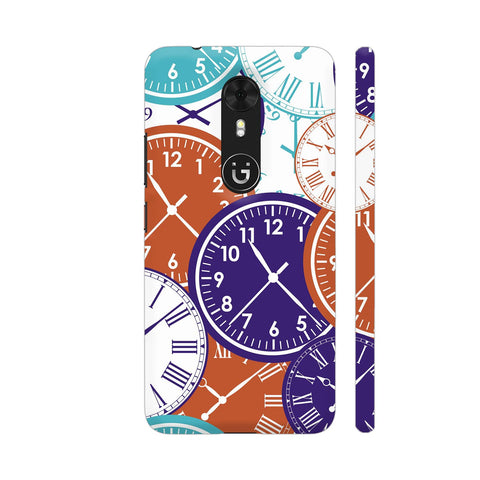 Clocks Gionee A1 Cover | Artist: Astha
