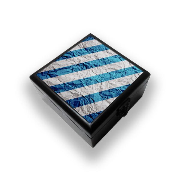 Colorburn Blue Jewellery Box