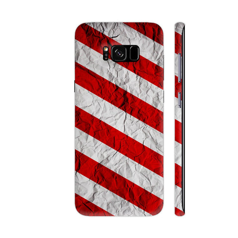Colorburn Red Samsung Galaxy S8+ Cover | Artist: Abhinav