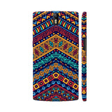 Colorful Ethnic OnePlus One Cover | Artist: Astha