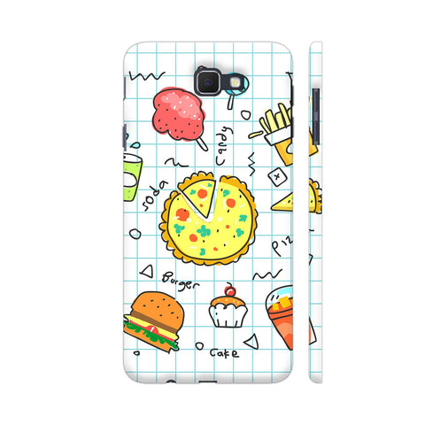 Colorful Fast Food Doodle Samsung On Nxt Cover | Artist: Ashish Singh