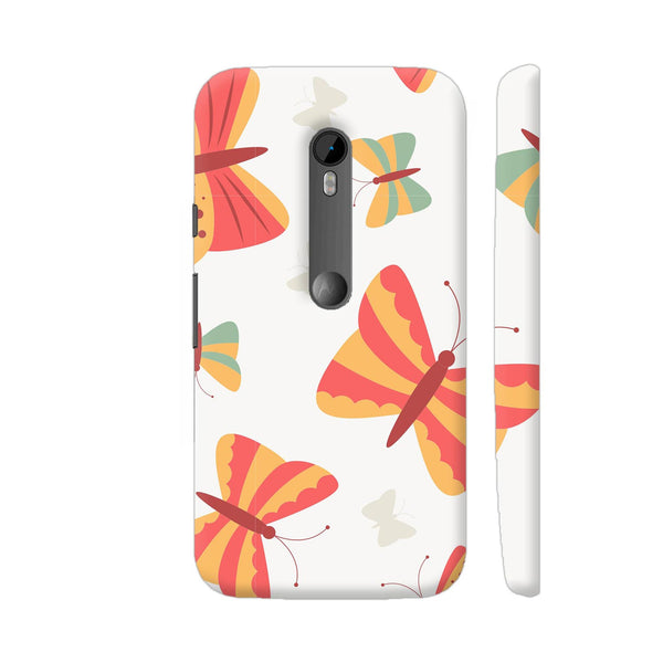 Colourful Butterfly Moto G Turbo Cover | Artist: Astha