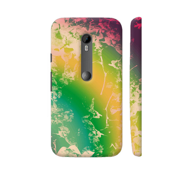 Cool Abstract Multicolor Artwork Moto G Turbo Cover | Artist: Sangeetha