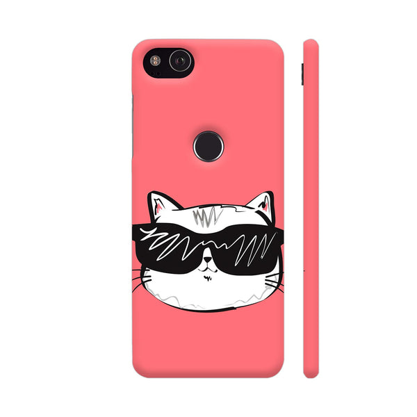 Cool Cat Google Pixel 3 XL Cover | Artist: Kiran Maurya