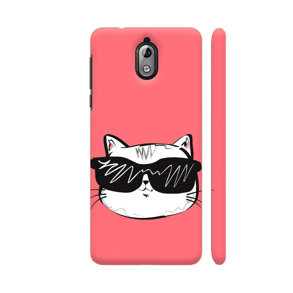 Cool Cat Nokia 3.1 Cover | Artist: Kiran Maurya