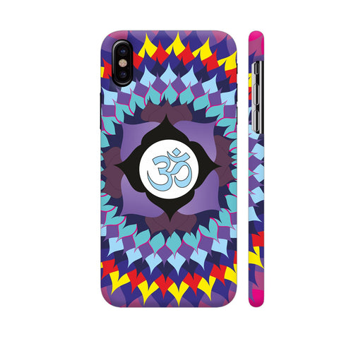 Cosmic Energy Mandala iPhone X Cover | Artist: Srishti Vataa Healing Arts