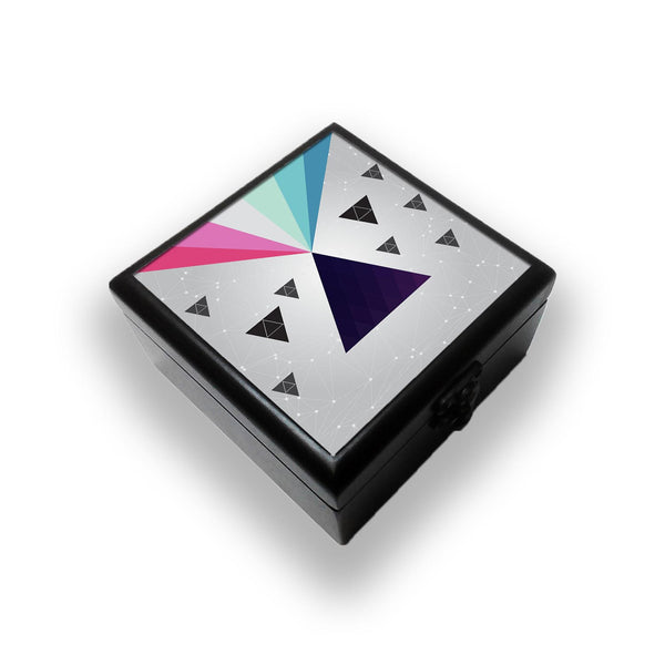 Cosmic Triangles Jewellery Box