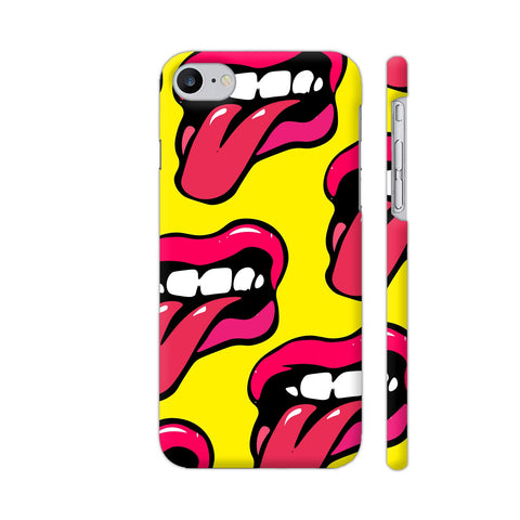 Crazy Lips Design iPhone 8 Cover | Artist: Malls