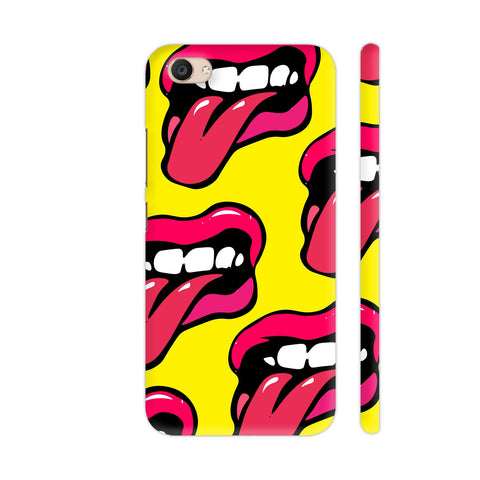 Crazy Lips Design Vivo V5 Plus Cover | Artist: Malls